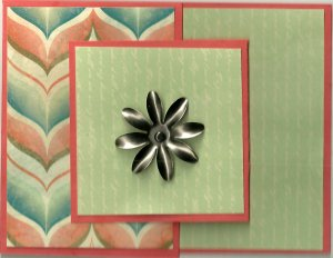 Card in a Card - Flower