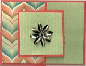 Card in a Card - Flower